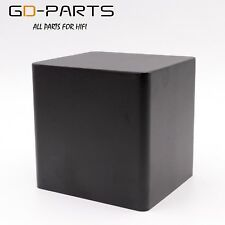 110*100*115mm Black Iron Triode Transformer Protect Cover Enclosure Case Hifix1