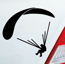 AUTO Adesivo Paracadutista parapendio Sticker SKY Dive VOLARE SPORT 104