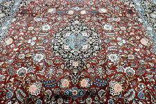 9X13 Masterpiece Mint 300+Kpsi Hand Knotted Veggie Dye Wool Tabrizz Oriental Rug