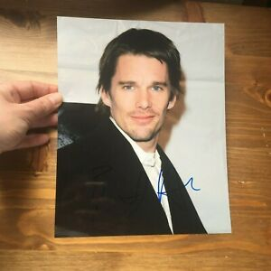 Ethan Hawke hand signed autograph 8x10 photo IP hollywood actor signature