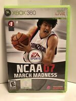 NCAA March Madness 07 FREE SHIPPING (Microsoft Xbox 360, 2007)