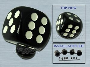 DICE MANUAL TRANSMISSION SHIFT KNOB FOR G35 G37 240SX 300ZX 350Z ALTIMA CUBE MAX