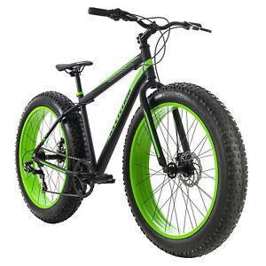 VTT Fatbike 26'' Fat-XTR noir 7 Vit Freins à Disque TC 46 cm KS Cycling 271M