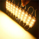 20-100Pcs 5050SMD 3LED Pixel Module Lamp LED Strip String Light DC12V Waterproof
