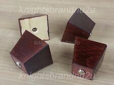 4x in legno gambe di ricambio, Piedi Mobili, Cassetti, Armadi, letti filettato