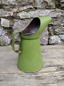 Collectable Vintage c1977 1 Litre Green Oil Can