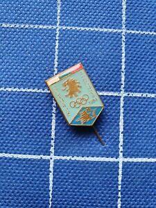 Pin badge anstecknadel Bulgaria NOC Olympic game Olympics LA Los Angeles 1984 84