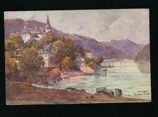 AK aus St. Nikola an der Donau, (7) Oberösterreich (P13)