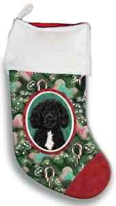 Portuguese Water Dog Christmas Stocking