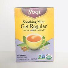 Yogi Healing Formula Organic Tea Soothing Mint Get Regular 16 Tea Bags Per 1 Box