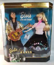Barbie Loves Elvis Barbie & Ken Gift Set- Live On Stage Collector Edition 1996