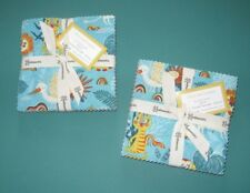 "2 Charm Packs ""OVER AND UNDER"" by Clothworks, 42 ~ 5"" x 5"" 100% Cotton"