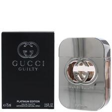 Gucci Guilty Platinum Perfume By GUCCI WOMEN 2.5 oz Eau De Toilette Spray