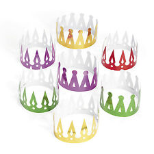 12 Prism Crowns King Queen MARDI GRAS NEW YEARS EVE birthday Party FAVORS