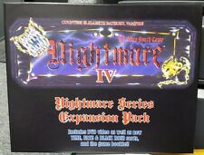 NEW! Nightmare IV Elizabeth Bathory Video Board Game with DVD (3rd Party)