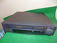 PANASONIC NV-SD44B Video Cassette Recorder VHS VCR BLACK Tape FAULTY / SPARES