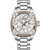 Invicta Men's Watch Bolt Quartz Silver Tone Dial Stainless Steel Bracelet 31387