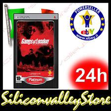 Gangs Of London - Sony PlayStation Portable - Italiano - PSP Game ITA