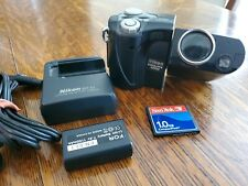 Nikon Coolpix 4500 4MP Digital Camera 4x Optical Zoom w/charger & battery & card