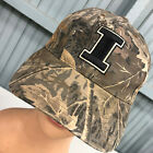 Illinois Fighting Illini Camo Hunting Adjustable Baseball Cap Hat