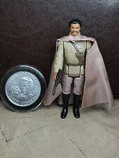 Vintage Star Wars - General Lando POTF Last 17 figure with Coin in acrylic case