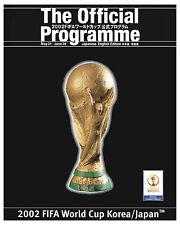 2002 Korea/Japan World Cup Poster of Tournament Program - 8x10 Color Photo