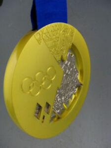 2014 Sochi Olympic 'Gold' Medal 1:1 Exact Replica 430g