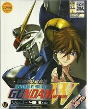 DVD Mobile Suit Gundam Wing Vol.1-49 End + The Movie