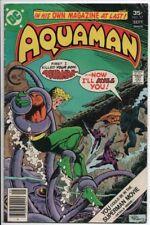 Aquaman #57 Sept. 1977 DC Comics FN Movie Coming soon! Black Manta, Aparo Art