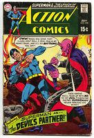 Action Comics 378 DC 1969 FN Superman Legion Of Super-Heroes Devil Voodoo