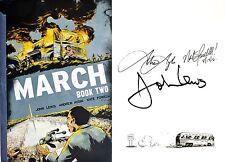 U.S. Congressman John Lewis~SIGNED & DATED 3X~March: Book 2~1st Ed+Photos! MLK