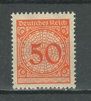 Germany Weimar Republic 1923 ☀ 50 pf orange ☀ MLH