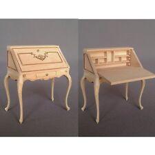 "Dollhouse Miniature ""VIOLET"" LADIES DESK   MM-012-UF    DIRECT FROM BESPAQ"