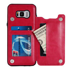 Flip Leather Wallet Case For Samsung Galaxy Note 9 8 S7 S8 S9 S10 Plus Card Slot