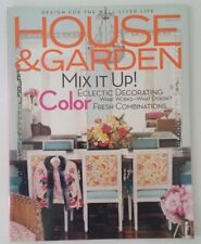 HOUSE & GARDEN Magazine MARCH 2006 Eclectic Decorating Color Combinations