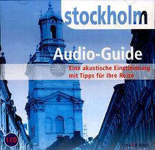 """CD Hörbuch Audio-Guide """"Stockholm"""" Eine akustische Einstimmung mit Reisetipps"""