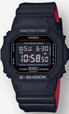 BRAND NEW CASIO G-SHOCK DW5600HR-1 BLACK/RED DIGITAL MENS WATCH NWT!!!