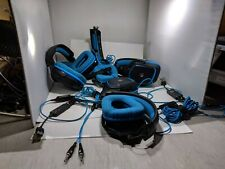 Lot of 4 Logitech G430 Gaming Headset with Dolby 7.1 Surround Sound For Parts!