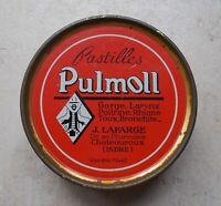 Boite Ancienne Tôle Métal Pastilles Pulmoll Pharmacie Collection Tin Box #3