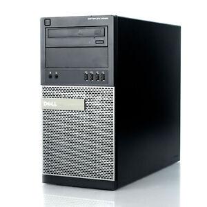 Dell OptiPlex Gaming Spec Quad Core i7 4th Gen CPU 16GB RAM 240GB SSD Wi-Fi PC