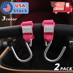 Pram Hook Baby Stroller Hooks Shopping Bag Clip Carrier Pushchair Hanger Holder
