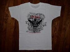 1989 we want EAZY E duz it hip hop vtg NWA DR DRE gangsta rap 8 ball T-shirt M/L