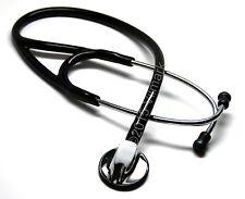 Professional Cardiology Stethoscope Black, by Vilmark, 1b Life Limited Warranty