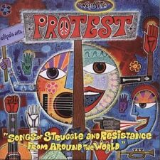 Protest: Songs of Struggle and Resistance from Around the World 2004 (CD) SEALED