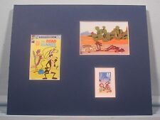 Wily the Coyote & the Road Runner honored by their own stamp
