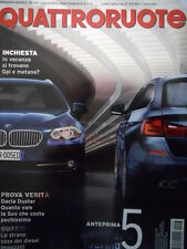 Quattroruote 657 2010 - BMW serie 5 Touring - Dacia Duster   [Q37]