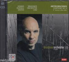 Bruckner - Sinfonie 8 / Dennis Russell Davies , Orchester Linz (2 CDs, NEU!)