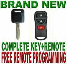 TRULY NEW UNCUT CHIP KEY D2+3BTS KEYLESS ENTRY BEEPER ALARM FOB REMOTE FOR NISAN