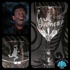 Personalised Disney Mary Poppins BERT Wine Glass Handmade & Free Name Engraving!