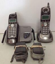Panasonic KX-TG5622 5.8 GHz Dual Handsets Cordless Phones
